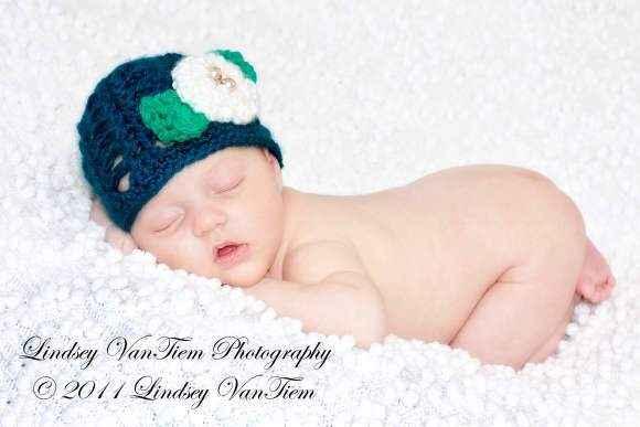 Linnie Belle Baby Girl Flower Hat
