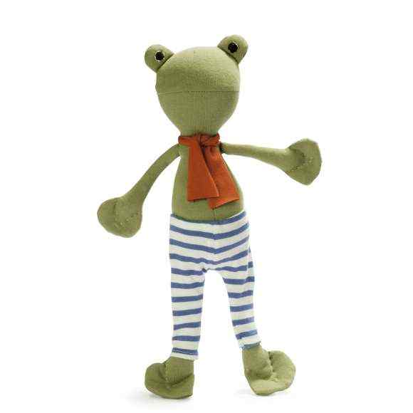Lewis the Toad Stuffed Animal Doll Toy (Organic Cotton)