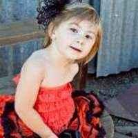 Orange Little Girls Lace Ruffle Petti Romper