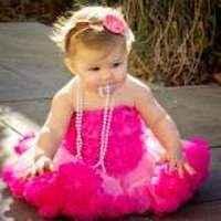 Pretty in Pink Lace Ruffle Little Girls Petti Romper