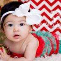 Christmas Lace Ruffle Baby & Little Girls Holiday Petti Romper
