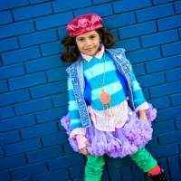 Lavender Chiffon Girls Boutique Pettiskirt