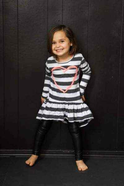 ae31822a7e768 Leather Childrens Leggings - Lemonade Couture