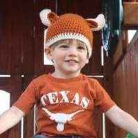 Longhorn Baby and Toddler Boy and Girl Hat (American Made)