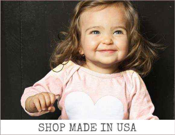 Made in USA Online Childrens Kids Baby Boutique Clothing