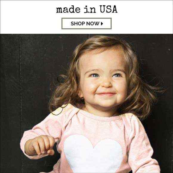 Made in USA Kids Unique Childrens Boutique Clothes Gifts