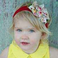Designer Bouquet Girls Headband (American Made)
