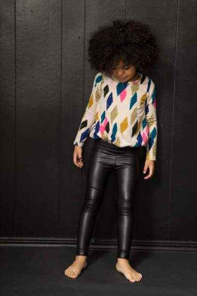 Leather Childrens Leggings - Lemonade Couture