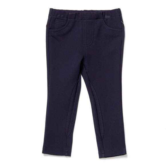 Navy Ponte Baby Girl Pants