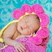 Newborn Flower Hat