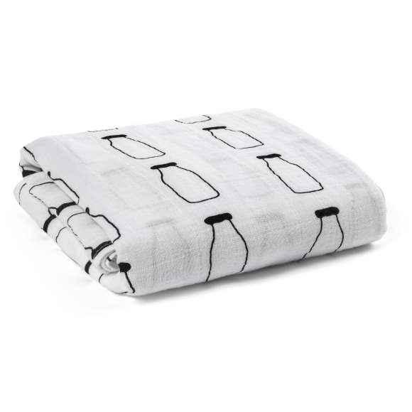 Milk Baby Swaddle Blanket (Organic Cotton Muslin)