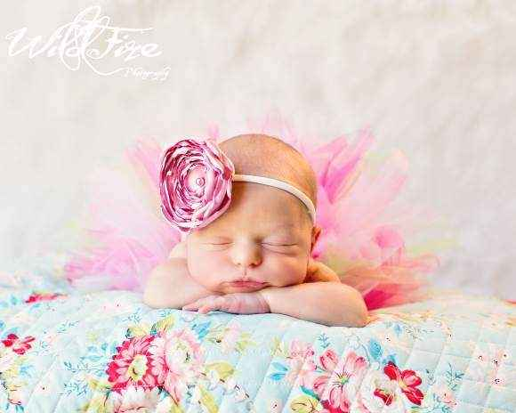 Lexie Baby and Girls Flower Headband (American Made)