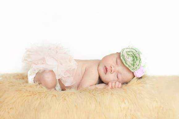 Pink Tulle Baby Girl Tutu Bloomers & Diaper Cover (American Made)