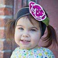 Pink Cupcake Boutique Headband for Babies and Girls