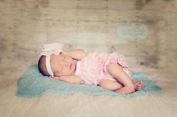 Perfectly Pink Baby Girl Lace Ruffle Petti Romper