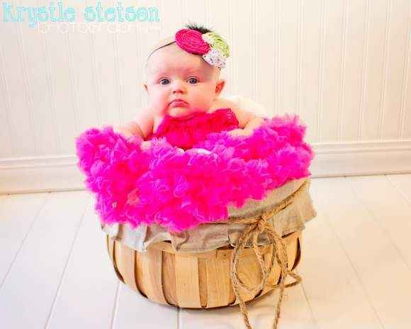 Raspberry Chiffon Baby Girl Boutique Pettiskirt