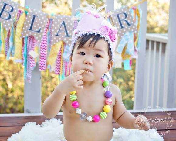 Pink Princess Baby and Girls Birthday Crown (American Made)