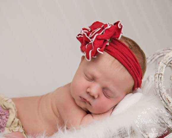 Roses are Red Baby & Girls Flower Headband (American Made)