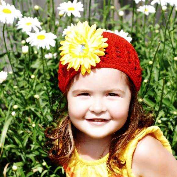 Coco Baby Girl Flower Hat