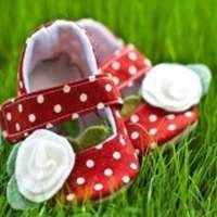 Strawberry Dotty Baby & Toddler Girls Shoes (American Made)