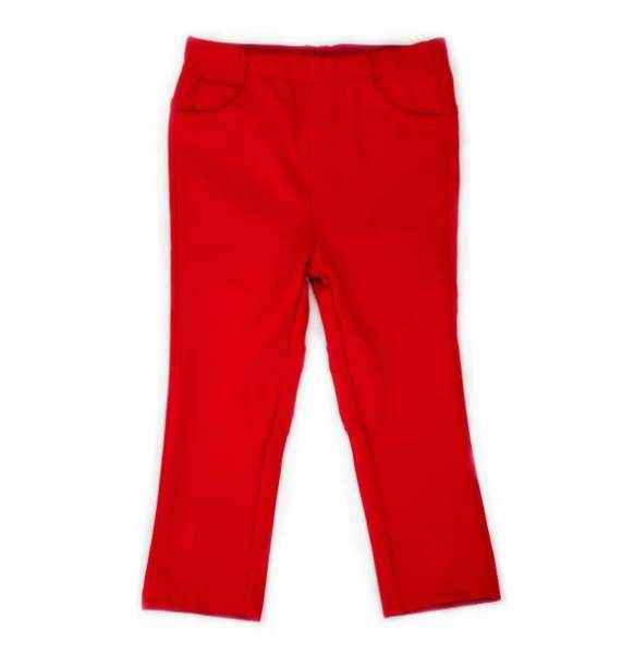 Red Ponte Baby and Toddler Girls Pants