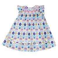 Smocked Unique Pretty Boutique Special Occasion Dress for Babies and Little Girls