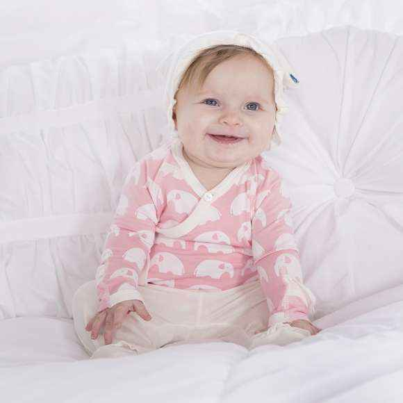 Soft Pink Bamboo Baby Girl Gift Set Lemonade Couture