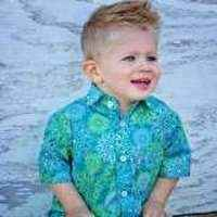 Kick the Can Toddler and Boy Short Sleeve Button Down Shirt