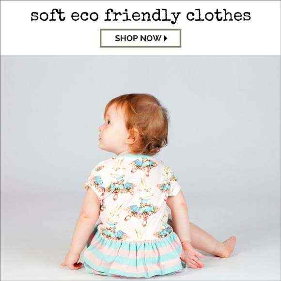 Super Soft Eco Friendly Organic Cotton Kids Boutique Clothing