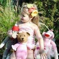 Pink Toddler Girls Lace Ruffle Petti Romper