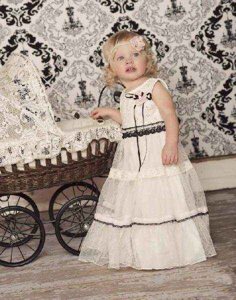 This long toddler girls dress makes a beautiful toddler dress for any party