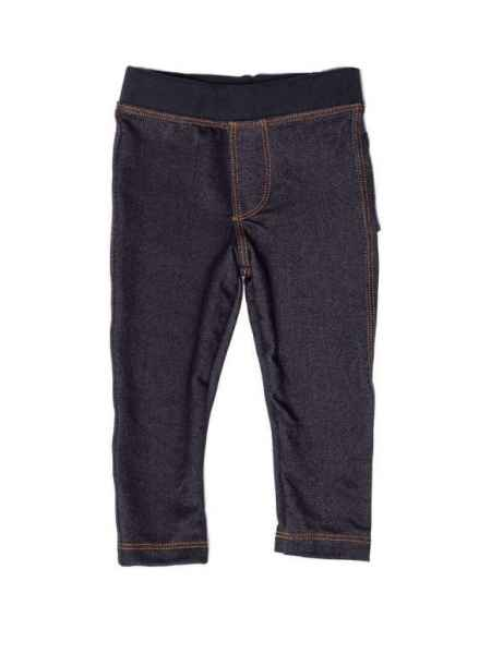 Dark Denim Trendy Little Kids Skinny Jeans (American Made)