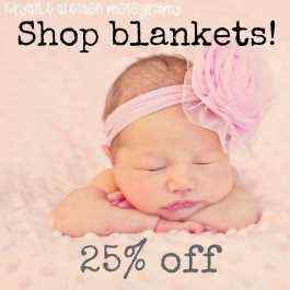 Save 25% on Ultra Soft Baby Blankets!