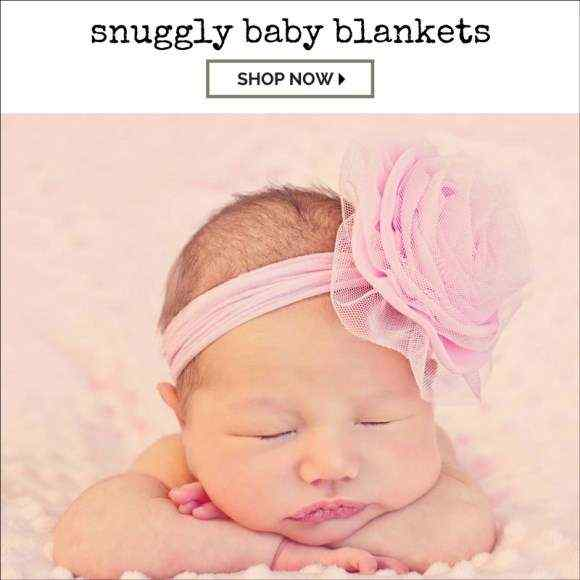 Ulta Soft Newborn Baby Girl Boy Receiving Blankets