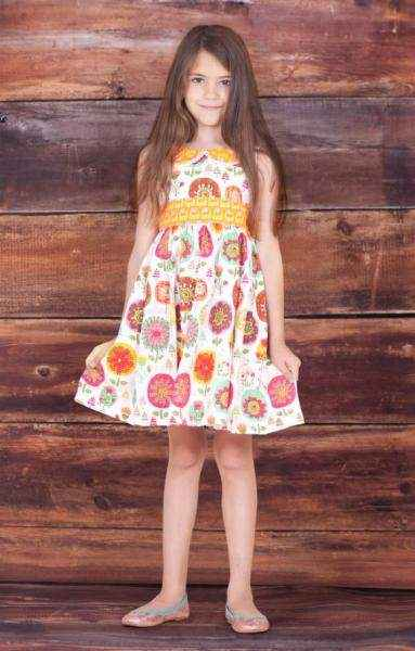 Kelsea Sleeveless Baby and Girls Dress