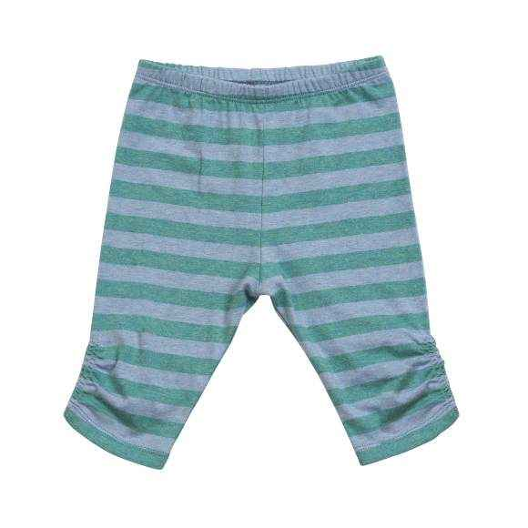 Striped Baby and Toddler Girls Leggings (Organic Cotton)