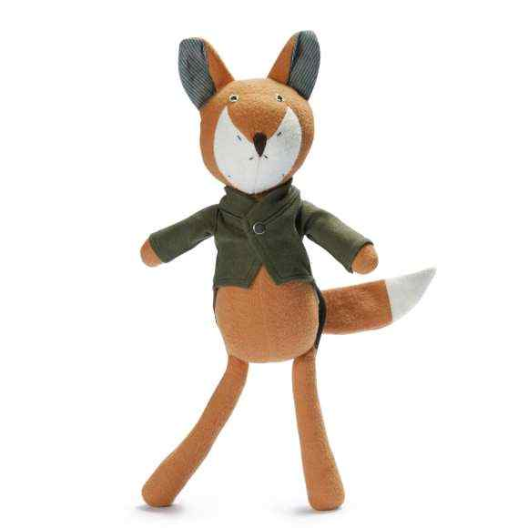 Owen the Fox Stuffed Animal Doll Toy (Organic Cotton)