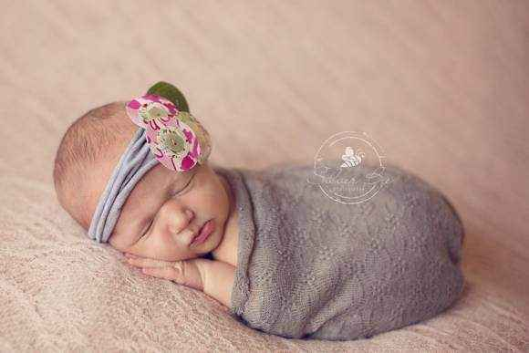 Grandmas Garden Baby and Girls Headband (American Made)