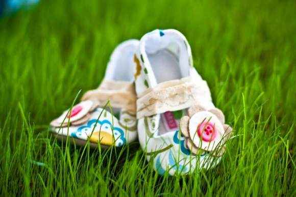 Vintage Mary Jane Toddler Girls Shoes (American Made)