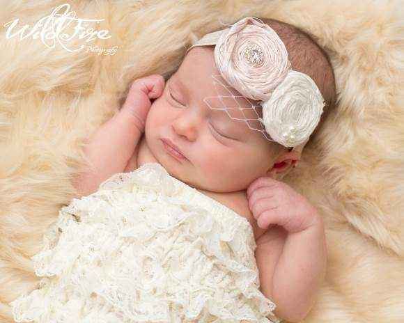 Audrey Baby Girl Headband (American Made)