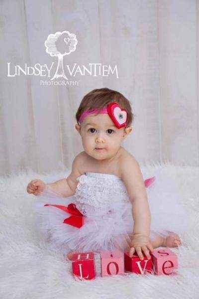 White Baby Girl Lace Ruffle Petti Romper