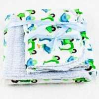 Chenille Baby Boy Girl Blanket
