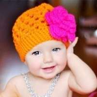 Orange Tree Beanie - ONLY ONE LEFT: size 6-12 months!