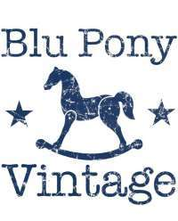 Blu Pony Vintage USA Made Kids Clothes
